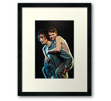 Iulia and Shane 2 Framed Print
