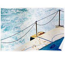 Bondi Splash Poster