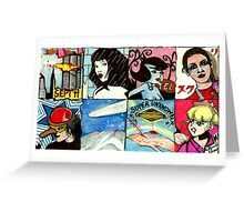 Tales Of Extraordinary Madness #2  Greeting Card