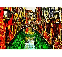 Canals Of Venice Fine Art Print Photographic Print