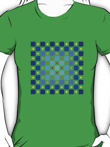 Square pattern vector T-Shirt