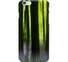 Impressions of a bluebell wood iPhone Case/Skin