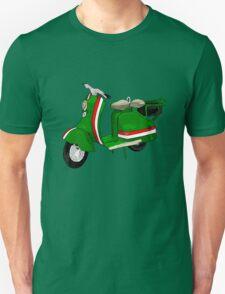 Fifties Lambretta Green decal T-Shirt