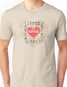 LOVE LETTERS Unisex T-Shirt