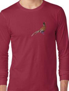 Pleasant Pheasant Long Sleeve T-Shirt