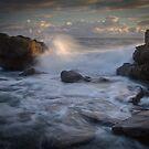 Ocean dawn by Grahame Clark