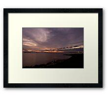 LP Sunset Framed Print