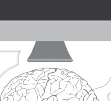 Computed Brain Sticker