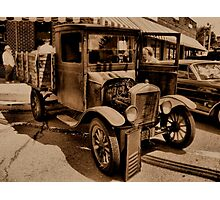 """""""1929 MODEL T FORD""""... prints and products Photographic Print"""