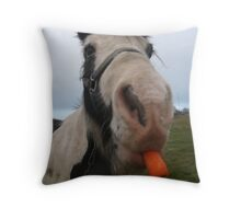 Care For a Carrot? Throw Pillow