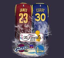 Lebron James vs Stephen Curry Jersey T-Shirt