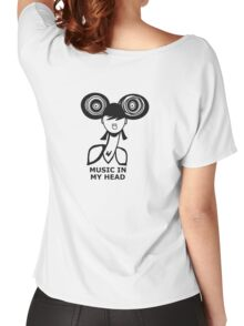 Music in my head Women's Relaxed Fit T-Shirt
