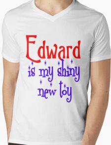 Edward is my shiny new toy Mens V-Neck T-Shirt