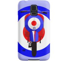 Retro Scooter with Target Samsung Galaxy Case/Skin