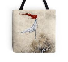 One Day She Flew Away Tote Bag