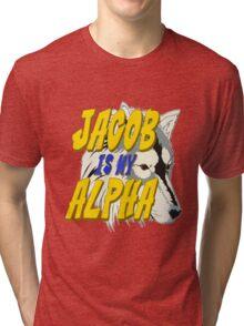 Jacob is my Alpha Twiliight Tri-blend T-Shirt