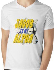 Jacob is my Alpha Twiliight Mens V-Neck T-Shirt