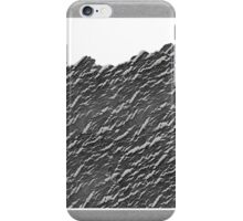 Mountain, 2013. Crackling medium + Digital iPhone Case/Skin