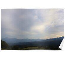 View to Asama - Mt Asama, Japan Poster