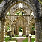 Archways at Dunkeld Cathedral. #2 by Finbarr Reilly