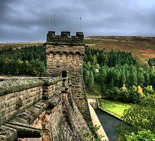 """"""" Derbyshire's Derwent Dam""""  by Bradley Shawn  Rabon"""