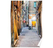 Vicoli di Genova Poster