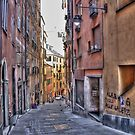 alleys of Genoa by oreundici
