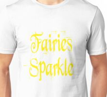 Fairies Sparkle Twilight Unisex T-Shirt
