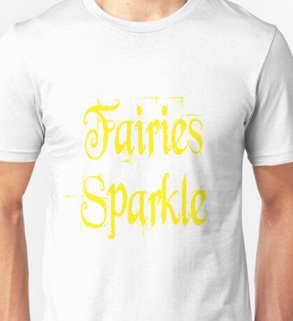 Fairies Sparkle Twilight Unisex T-Shirt