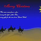 Wise Men,..Christmas Card by MaeBelle