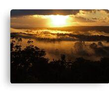 """'Golden landscape"""" Canvas Print"""
