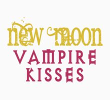 New Moon Vampire Kisses by gleekgirl