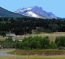 Crowsnest Pass and Mountain by George Cousins