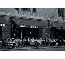 The Parc Cafe Photographic Print
