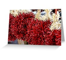 HOT CHILIES!! Greeting Card