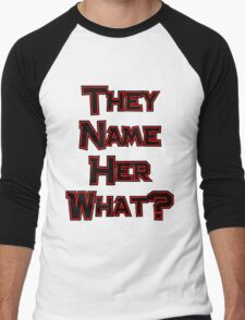 They Name Her What? Twilight Men's Baseball ¾ T-Shirt