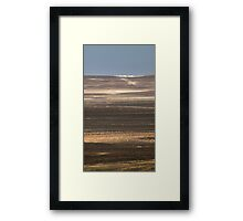 Lithography Framed Print