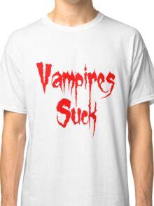 Vampires Suck Twilight Classic T-Shirt