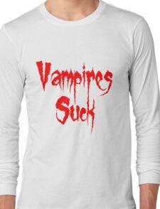 Vampires Suck Twilight Long Sleeve T-Shirt