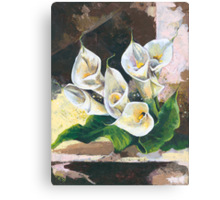 Callas - One of my Favorite Flowers Canvas Print