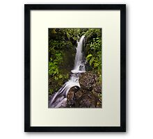 Jock Atkins Waterfall Framed Print