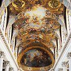Chapel ceiling Vesailles by Tony Dempsey