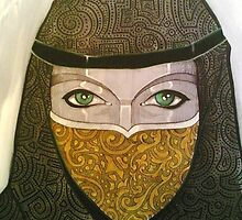 Arabic woman by J-M MACIAS