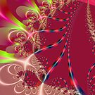 colorful fractal by eraline