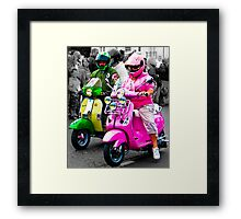 Kermit and Miss Piggy? Surely not! Framed Print