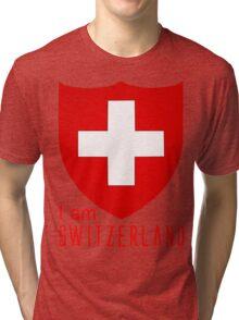 I Am Switzerland Twilight Tri-blend T-Shirt