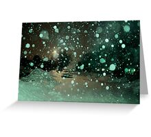 Snowstorm Greeting Card