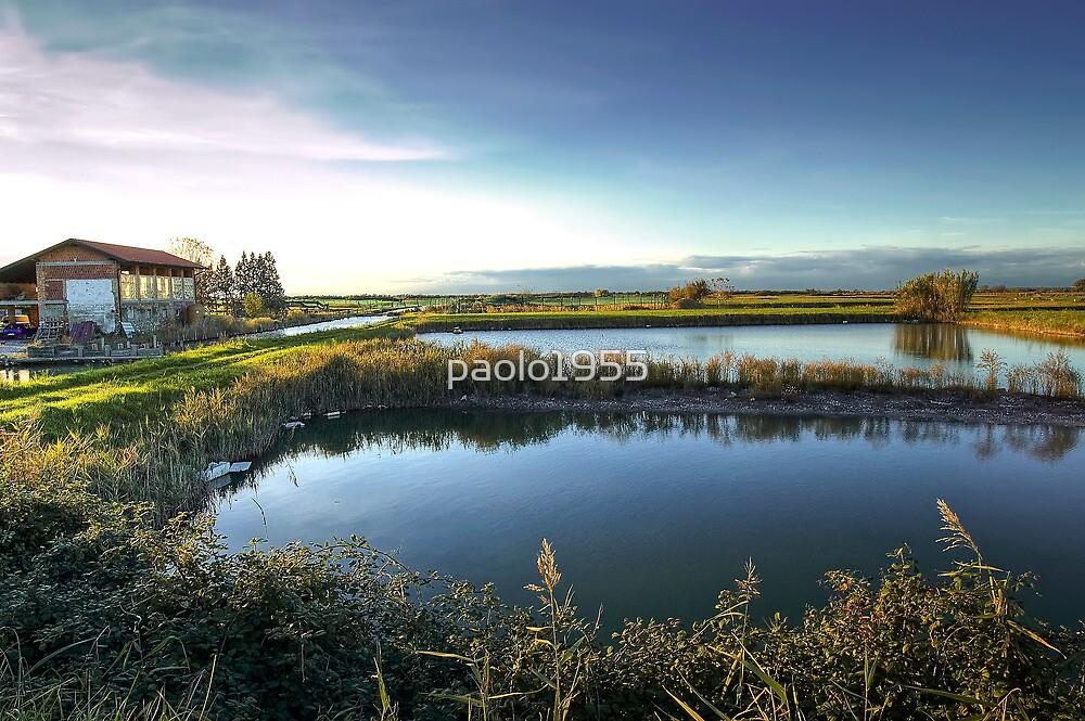 The Lagoon of Grado by paolo1955