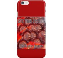 Save From Oblivion iPhone Case/Skin