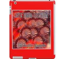 Save From Oblivion iPad Case/Skin